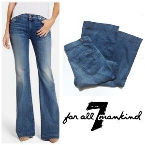 7 For All Mankind Ginger Flare Jeans 70s Vibe 7FAM